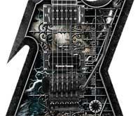 Amazon Com Dean Razorback Guitar Cemetery Gates With
