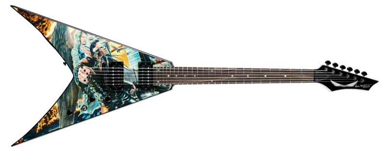 Amazon Com Dean V Dave Mustaine Guitar United