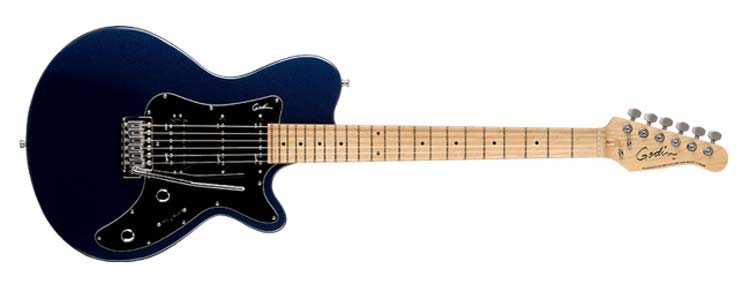 godin sd 22 electric guitar midnight blue mn musical instruments. Black Bedroom Furniture Sets. Home Design Ideas