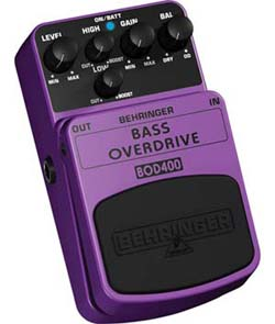 B002EWPX54-1 Behringer Bass Overdrive Bod400 Authentic Tube-Sound Overdrive Effects Pedal