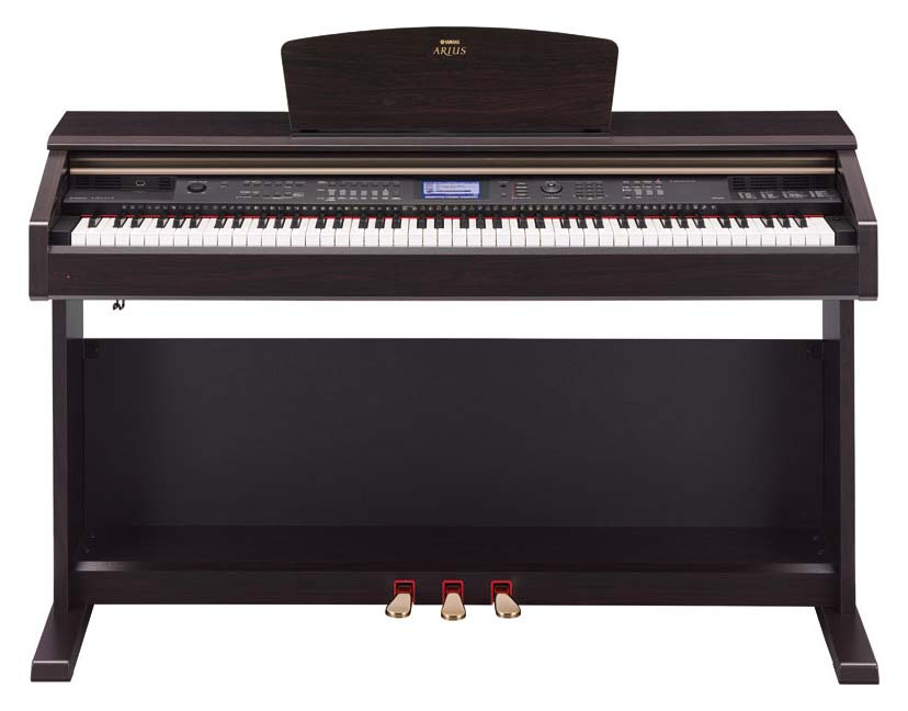 yamaha arius ydp v240 traditional console digital piano with bench musical instruments. Black Bedroom Furniture Sets. Home Design Ideas