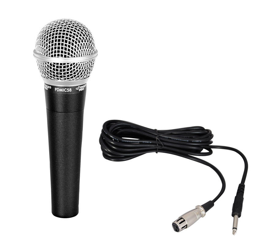 Coiled Microphone Cable : Amazon pyle pro pdmic professional moving coil