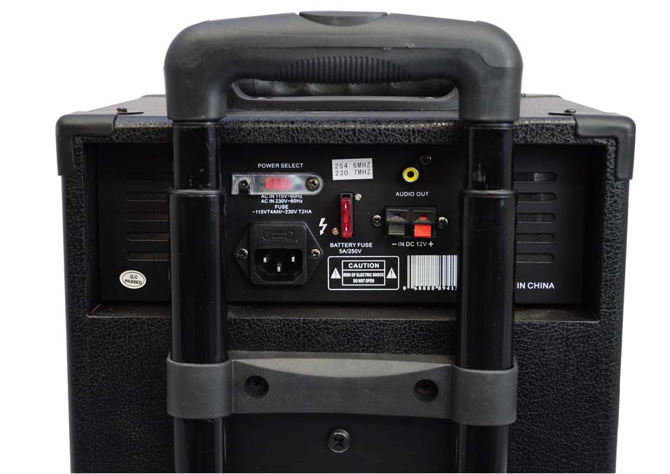 Amazon Com Pyle Pro 800 Watt Outdoor Portable Wireless Pa