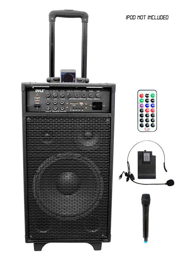 Amazon Com Pyle Pwma200 Compact Amp Wireless Microphone Pa