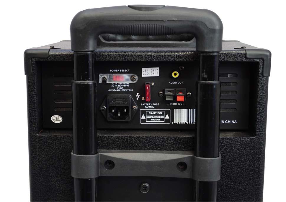 Amazon Com Pyle Pwma430u Wireless Rechargeable Portable