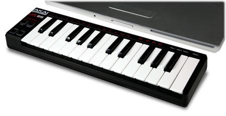 akai professional lpk25 25 key ultra portable usb midi keyboard controller for. Black Bedroom Furniture Sets. Home Design Ideas
