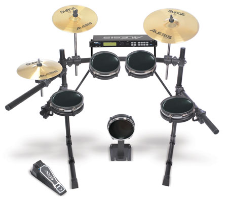alesis dm5 pro kit with surge cymbals musical instruments. Black Bedroom Furniture Sets. Home Design Ideas