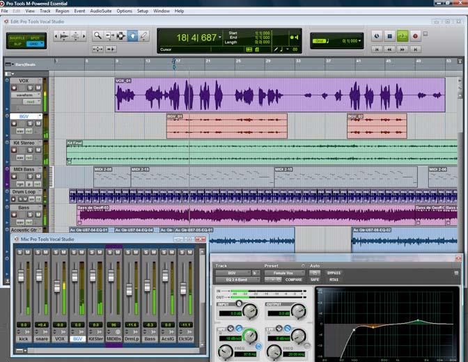 pro tools studio software