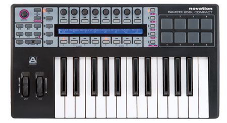 novation remote 25 sl compact usb midi controller keyboard with automap universal. Black Bedroom Furniture Sets. Home Design Ideas