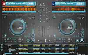 Hercules 2-Deck DJ Controller