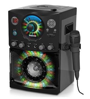 2016 version singing machine sml 385 top loading cdg karaoke system with sound and. Black Bedroom Furniture Sets. Home Design Ideas