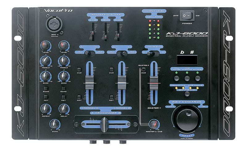 4 Channel Compact Microphone Mixer QTX