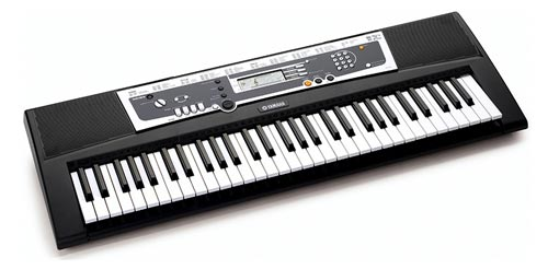 Yamaha ypt210 61 full size keyboard bundle for Yamaha learning keyboard