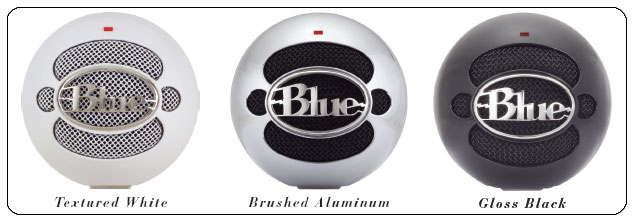 Blue Microphones Snowball Usb Microphone Brushed Aluminum