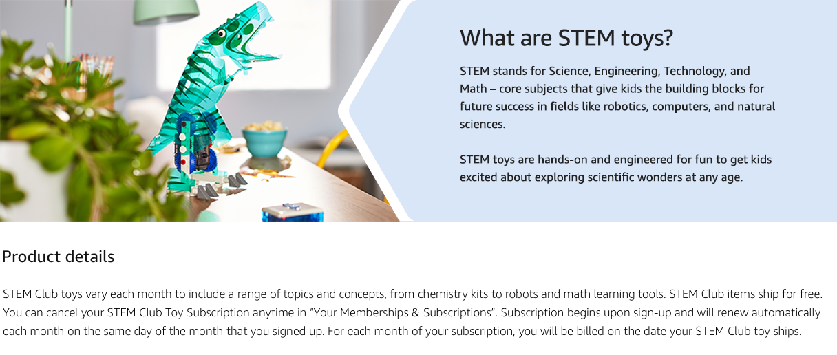 What are STEM toys?