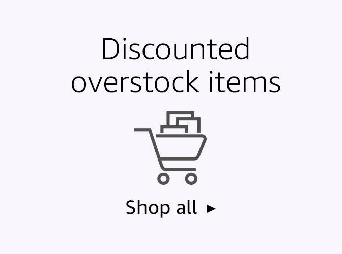 Discounted overstock items