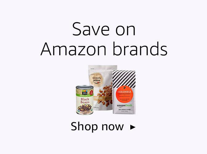 Save on Amazon brands
