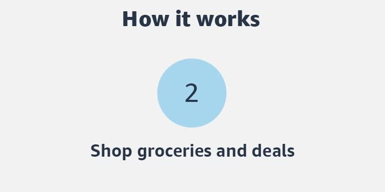 Shop groceries and deals