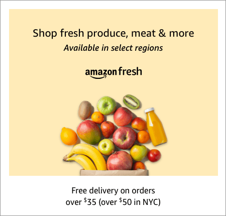 See all SNAP EBT eligible groceries in Amazon Fresh groce