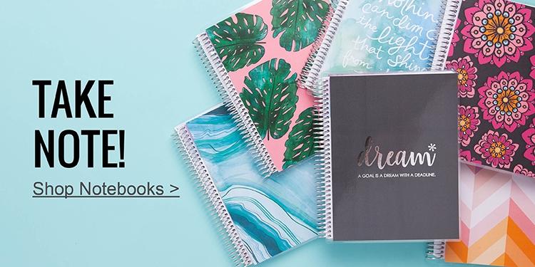 Erin Condren Notebooks