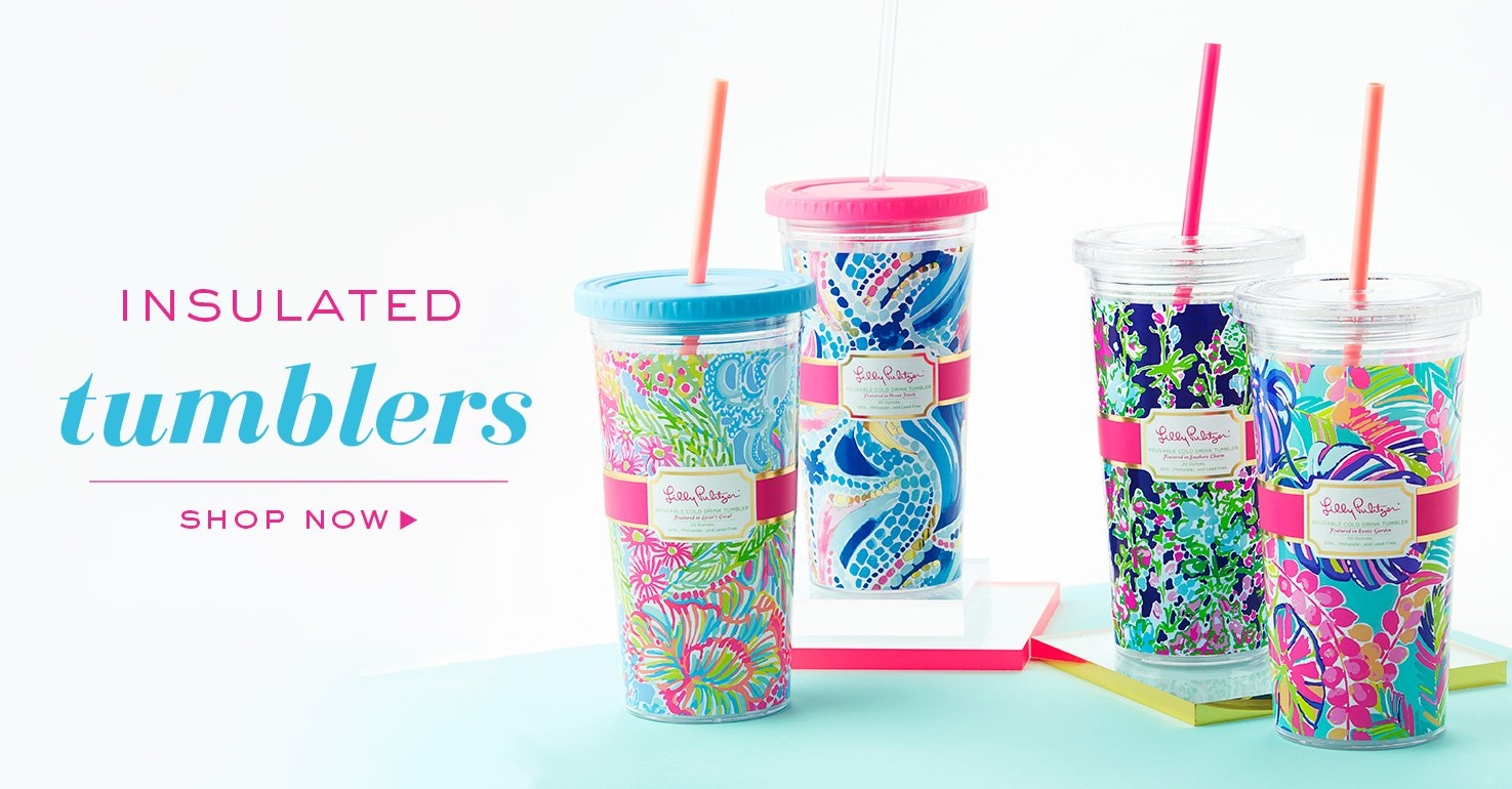 Shop Lilly Pulitzer Drink Tumblers