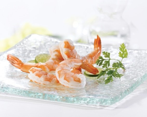 Aqua Star, Cooked Peeled Tail-on Shrimp, 41-50 Count , 2lb ...