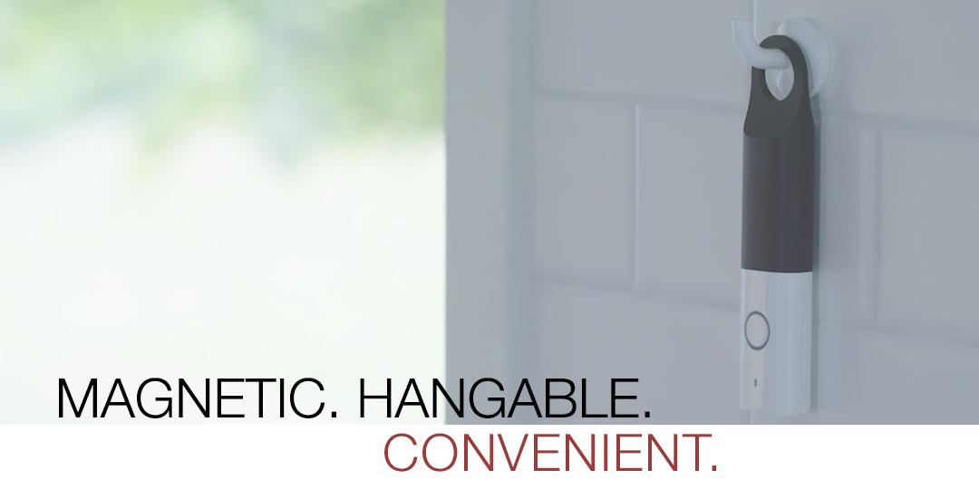 Magnetic. Hangable. Convenient.