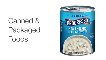 Canned & Packaged Foods
