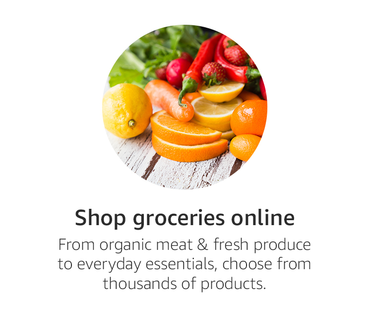 Shop groceries online