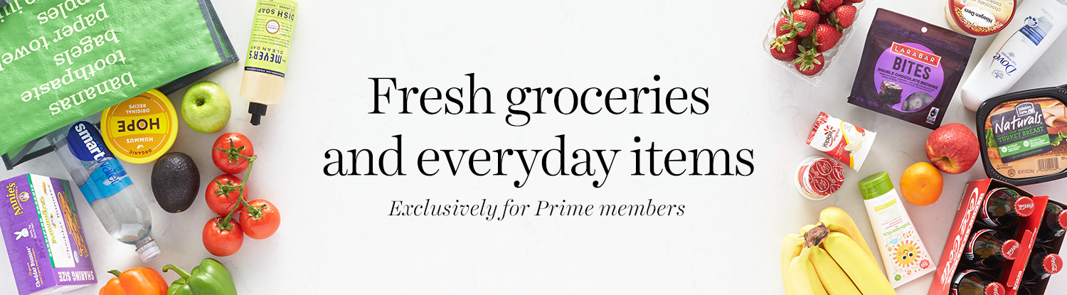 Fresh groceries and everyday items delivered