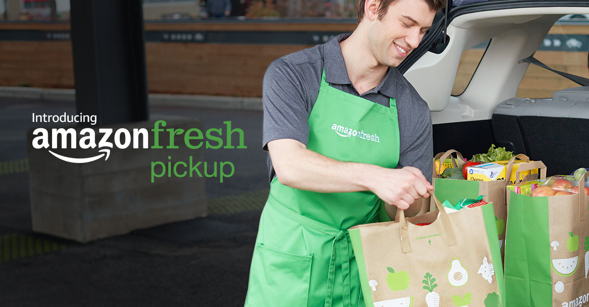 special AmazonFresh Pickup coupon
