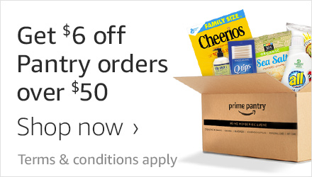 Get $6 off Pantry orders over $50