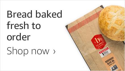 Bread baked fresh
