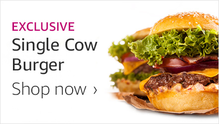 Single Cow Burger