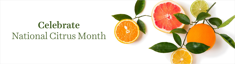 Celebrate National Citrus Month