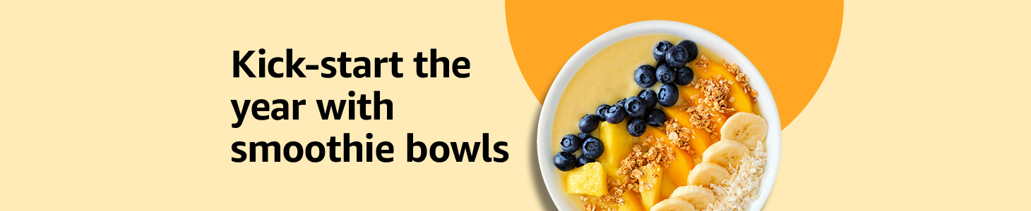 Kickstart the year with smoothie bowls