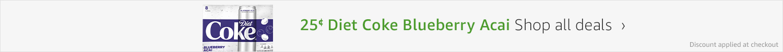 $0.25 Diet Coke Blueberry Acai