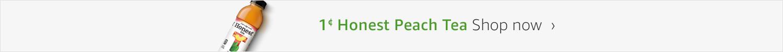 $0.01 Honest Peach Tea
