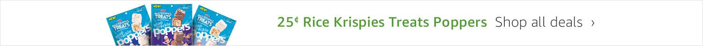 $0.25 Kellogg's Rice Krispies Treats Poppers