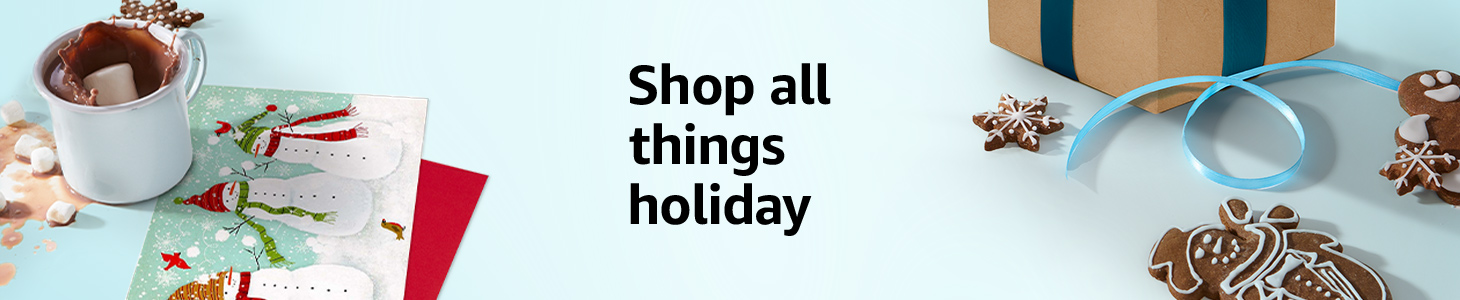 Shop all things holiday