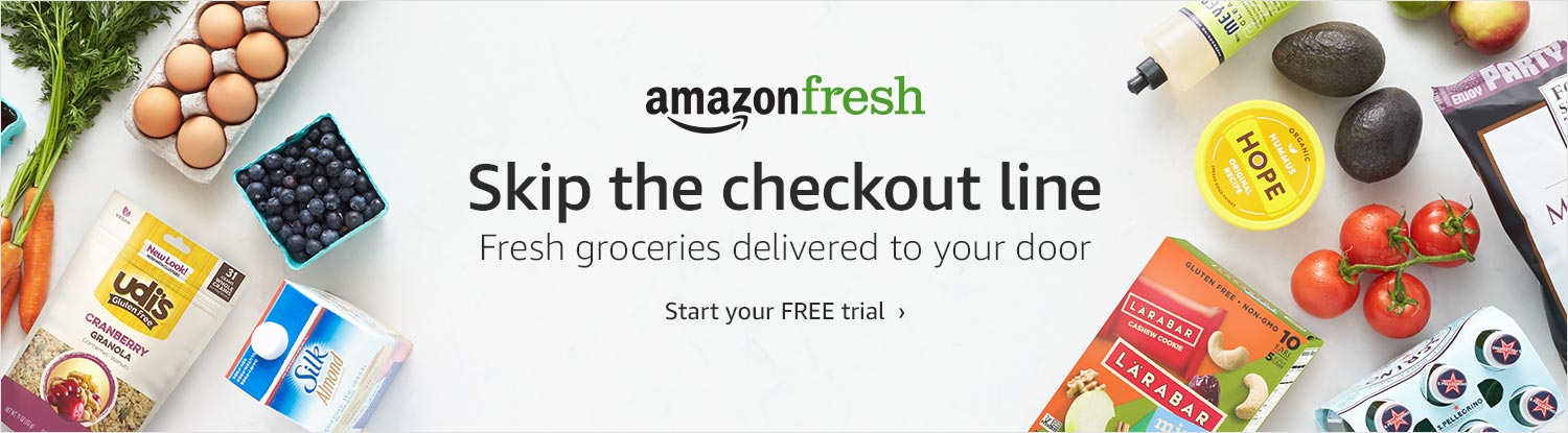 AmazonFresh | Start your FREE trial