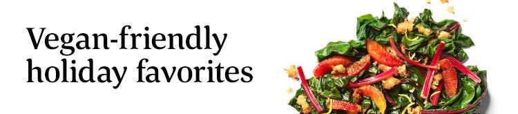 Vegan-friendly holiday favorites