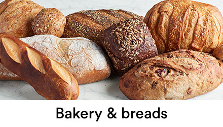 Breads, Rolls, and Bakery