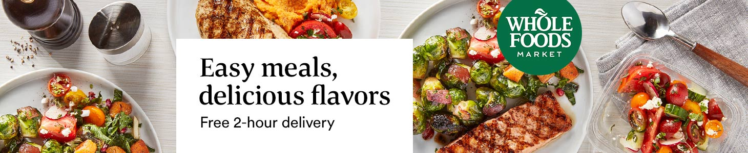 Easy meals, delicious flavors - Free 2-hour delivery