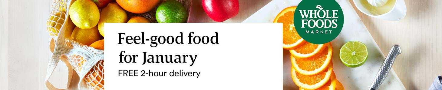 Feel-good food for January // FREE 2-hour delivery
