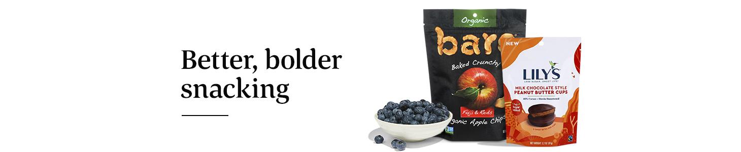 Better, bolder snacking