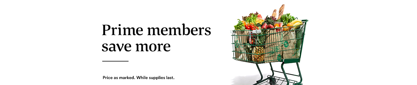 Prime members save more. Price as marked. While supplies last.