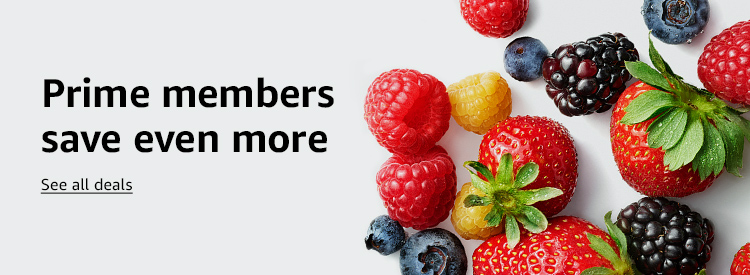 Prime members save even more see all deals