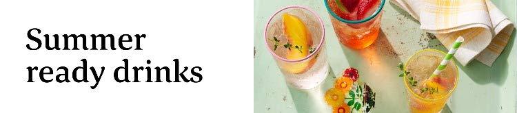 Summer ready drinks