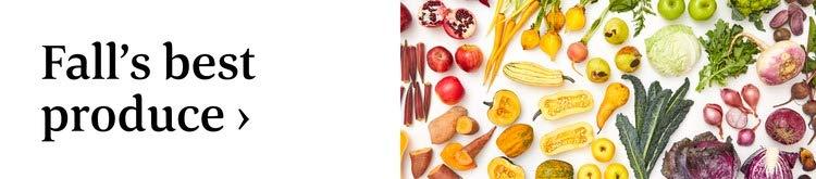 Fall's best produce >